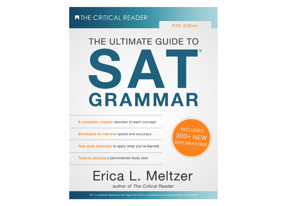Announcement: updated editions of the SAT reading & grammar books, and the ACT English book, are coming in September